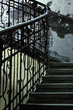 Detail der rustikalen Treppen Lizenzfreie Stockfotografie