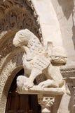 Detail der Ruvo Di Puglia-Kathedrale Lizenzfreie Stockfotos