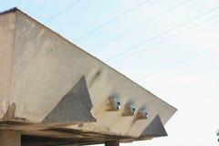 Detail der städtischen Architektur Stockbild