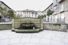 Detail der Stadt von Pontevedra Spanien lizenzfreies stockbild