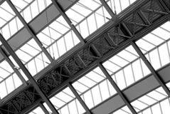 Detail der Station roof.3 Stockbild
