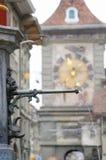 Detail der Statue in Bern Old Town Lizenzfreies Stockfoto