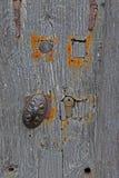 Detail der Tür und der abstrakten Studie Holzbeschaffenheit Lizenzfreies Stockbild