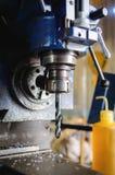 Detail der vertikalen Bohrmaschine Lizenzfreies Stockbild