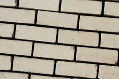 Detail der Wand mit hellen Ziegelsteinen Lizenzfreie Stockfotos