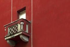 Detail der Wohnung mit Balkon Stockfotografie