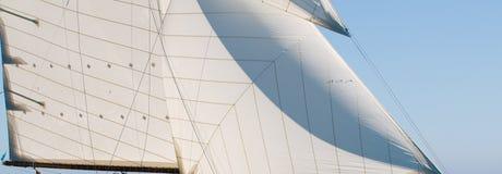 Detail der Yacht Stockfotos