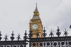 Detail des Big Ben-Glockenturms Stockfotos