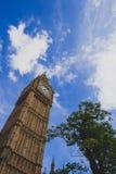 Detail des Big Ben-Glockenturms Stockbild