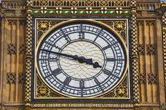 Detail des Big Ben-Glockenturms Lizenzfreie Stockfotos