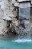 Detail des Brunnens der vier Flüsse lizenzfreie stockfotografie