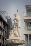 Detail des Brunnens von Posiedon, Kusadasi, die Türkei Lizenzfreies Stockfoto