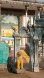 Detail des buddhistischen Tempels in Kambodscha Stockbild