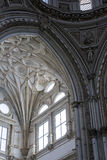 Detail des Dachs des christlichen Teils der Mezquita-Kathedrale O Stockfotografie