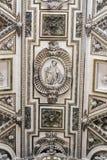 Detail des Dachs des christlichen Teils der Mezquita-Kathedrale O Stockbild