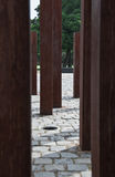Detail des Denkmals zur ungarischen Umdrehung Lizenzfreies Stockbild