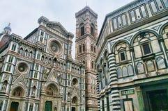 Detail des Duomo in Florenz, Italien Stockbilder