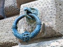 Detail des façade des Palastes von Charles V Lizenzfreies Stockfoto