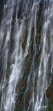 Detail des fallenden Wassers Victoria Falls Nahaufnahme Nationalpark Mosi-oa-Tunya und Welterbestätte Zambiya zimbabwe Lizenzfreie Stockbilder