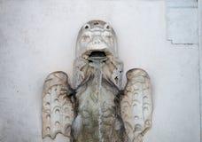 Detail des Fontanone in Rom lizenzfreies stockbild