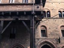 Detail des Gebäudes Stockbilder