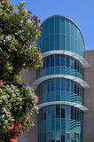 Detail des Gebäudes Neuseelands Te Papa Tongarewa Museum Lizenzfreies Stockfoto