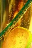 Detail des Getränks lizenzfreie stockfotos