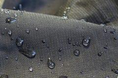 Detail des Gewebes Wasser abweisend Lizenzfreie Stockfotos