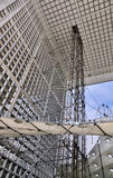 Detail des Grande Arche Stockfotos