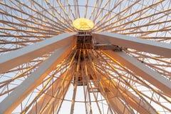 Detail des großen Riesenrads Stockbilder