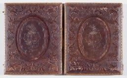 Detail des historischen Daguerreotypefalles Lizenzfreies Stockbild