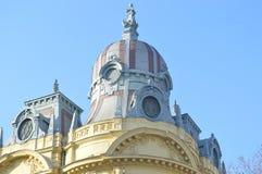 Detail des historischen Gebäudes Stockbild