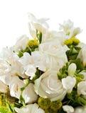 Detail des Hochzeitsblumenstraußes Stockbild