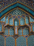 Detail des Innenraums des Scheichs Loft Allah Mosque lizenzfreies stockfoto