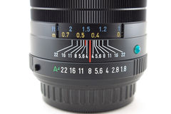 Detail des Kameraobjektivs Lizenzfreie Stockfotografie