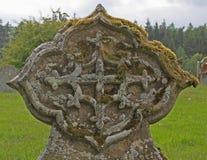 Detail des keltischen Kreuzes im Kirchhof, nahe loweswater, Seebezirk Lizenzfreie Stockfotos