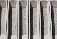 Detail des konkreten Gebäudes Lizenzfreies Stockbild