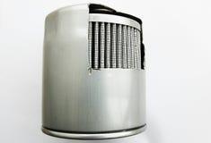 Detail des Kraftstofffilters für Maschinenauto stockfotos