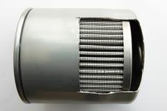 Detail des Kraftstofffilters für Maschinenauto lizenzfreies stockfoto