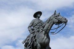 Detail des Kriegdenkmals für zweites Lizenzfreie Stockfotografie