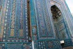 Detail des Mausoleums Shadi Mulk Aka lizenzfreies stockbild