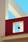 Detail des modernen Architekturgebäudes Lizenzfreie Stockfotos