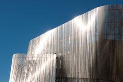 Detail des modernen Gebäudes Stockfotos