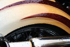 Detail des Motors Stockfotografie