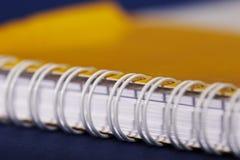 Detail des Notizbuches Lizenzfreies Stockfoto