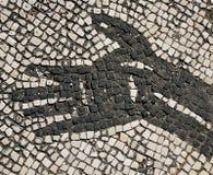 Detail des römischen Mosaiks Lizenzfreie Stockfotografie
