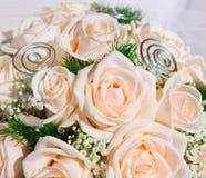Detail des Rosenblumenstraußes Lizenzfreies Stockbild