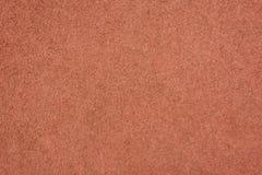 Detail des roten Gummierdgeschosses Lizenzfreie Stockfotos