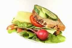 Detail des Sandwiches stockbilder