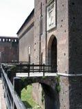 Detail des Schlosses Stockfotografie